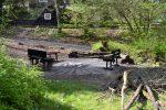 Der Grillplatz im Eifeldorf